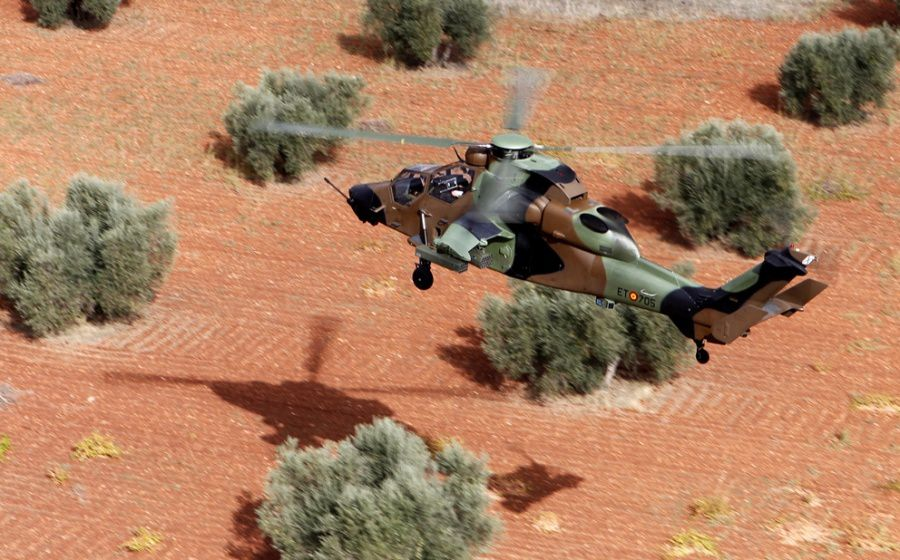 Tigre HAP de la FAMET, équivalent espagnol de l'ALAT © Airbus Helicopter