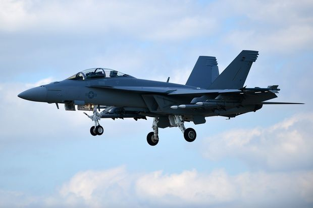 Le F-18 Advanced Super Hornet de Boeing
