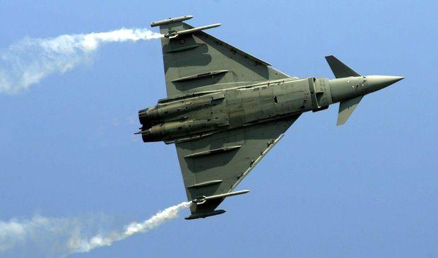 Le Typhoon du consortium Eurofighter