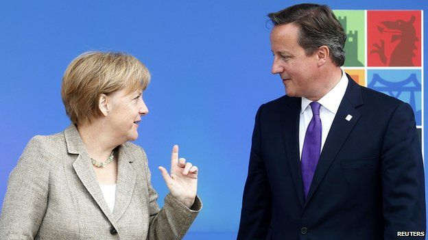 Angela Merkel is reported to have told David Cameron that she will not negotiate on EU migration