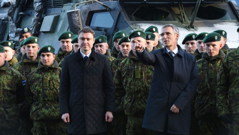 ''All for one, one for all'' : NATO Secretary General stresses solidarity in Estonia
