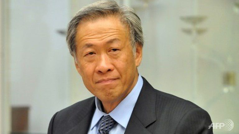 File photo: Defence Minister Ng Eng Hen. (Photo: AFP)
