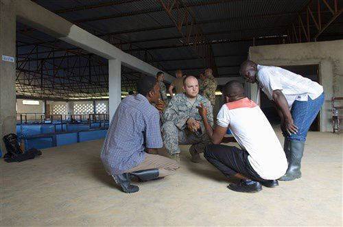 Troops fight Ebola through education and training