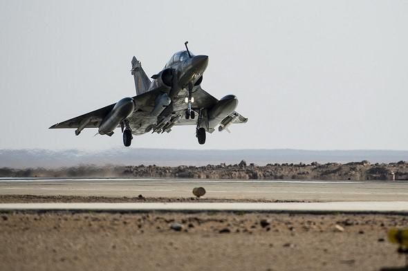 Chammal : Première mission des Mirage 2000D dans le nord de l'Irak