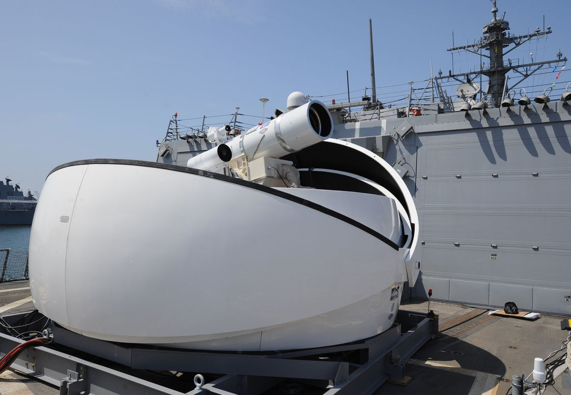 Navy encouraged by performance of laser system on USS Ponce