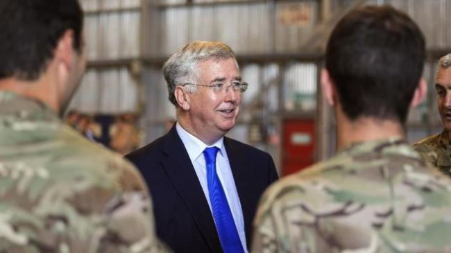 UK military chief confirms Iraq troop deployment