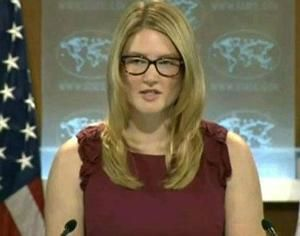 US state department spokeswoman Marie Harf.