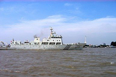 Chinese Marine Surveillance Vessel Image Credit: Wikimedia Commons / Bt4wang