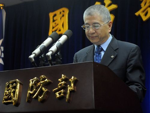 Former Taiwanese defense minister Andrew Yang (楊念祖)