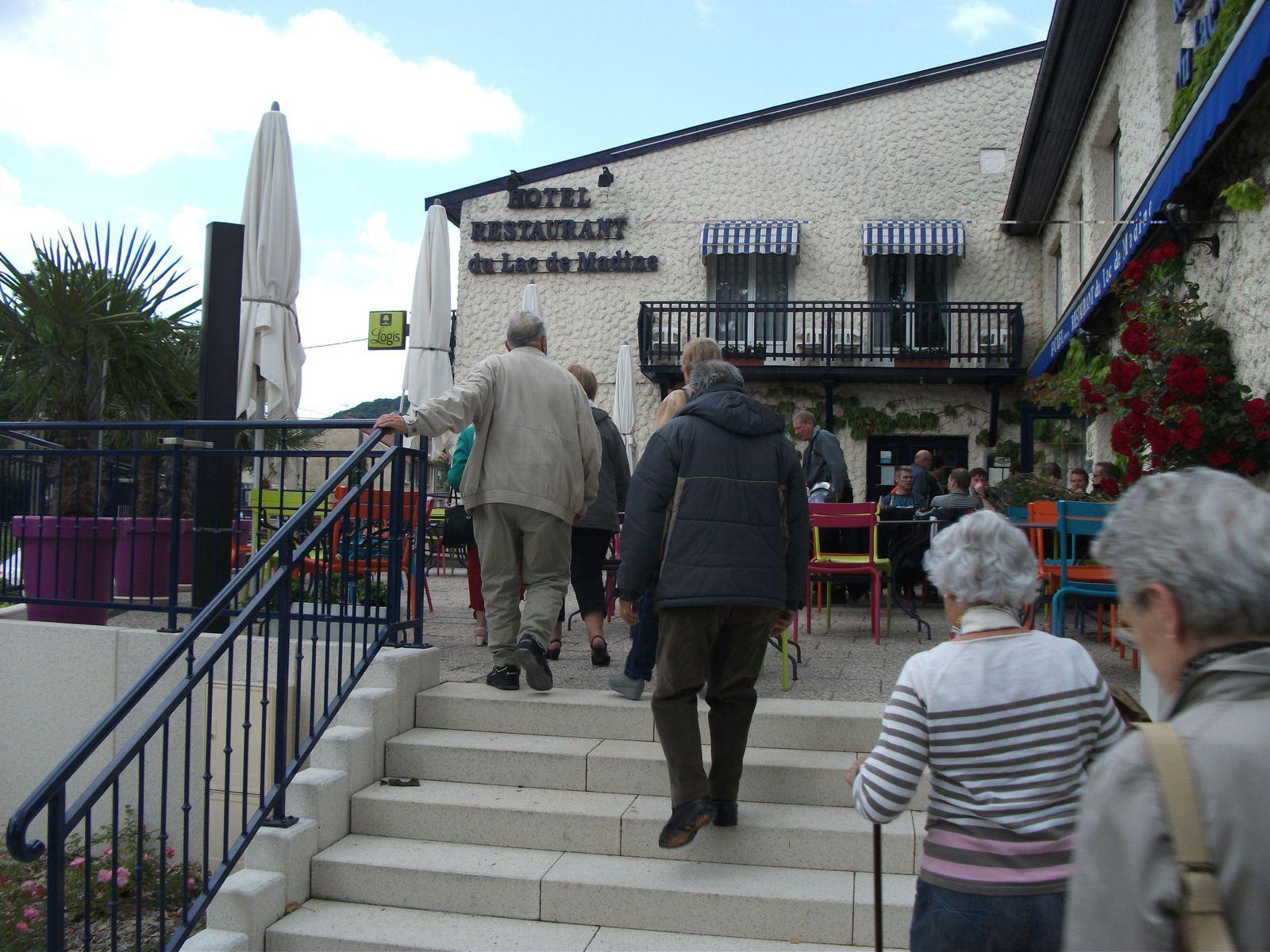 Voyage des seniors en Meuse... Sympa et instructif...