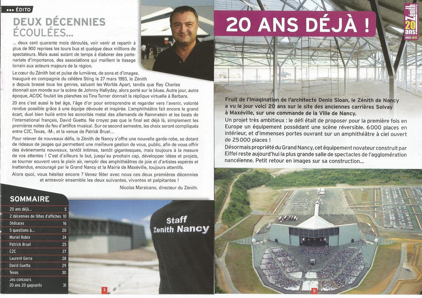 Ce samedi 29 juin 2013, à 20h30, dans l'amphithéâtre, en plein air, David Guetta, disc-jockey international...