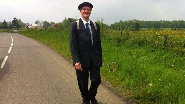 Jean Lassalle... le député - Modem - qui marche...