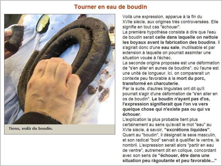 En savoir plus sur nos expressions françaises (10)...