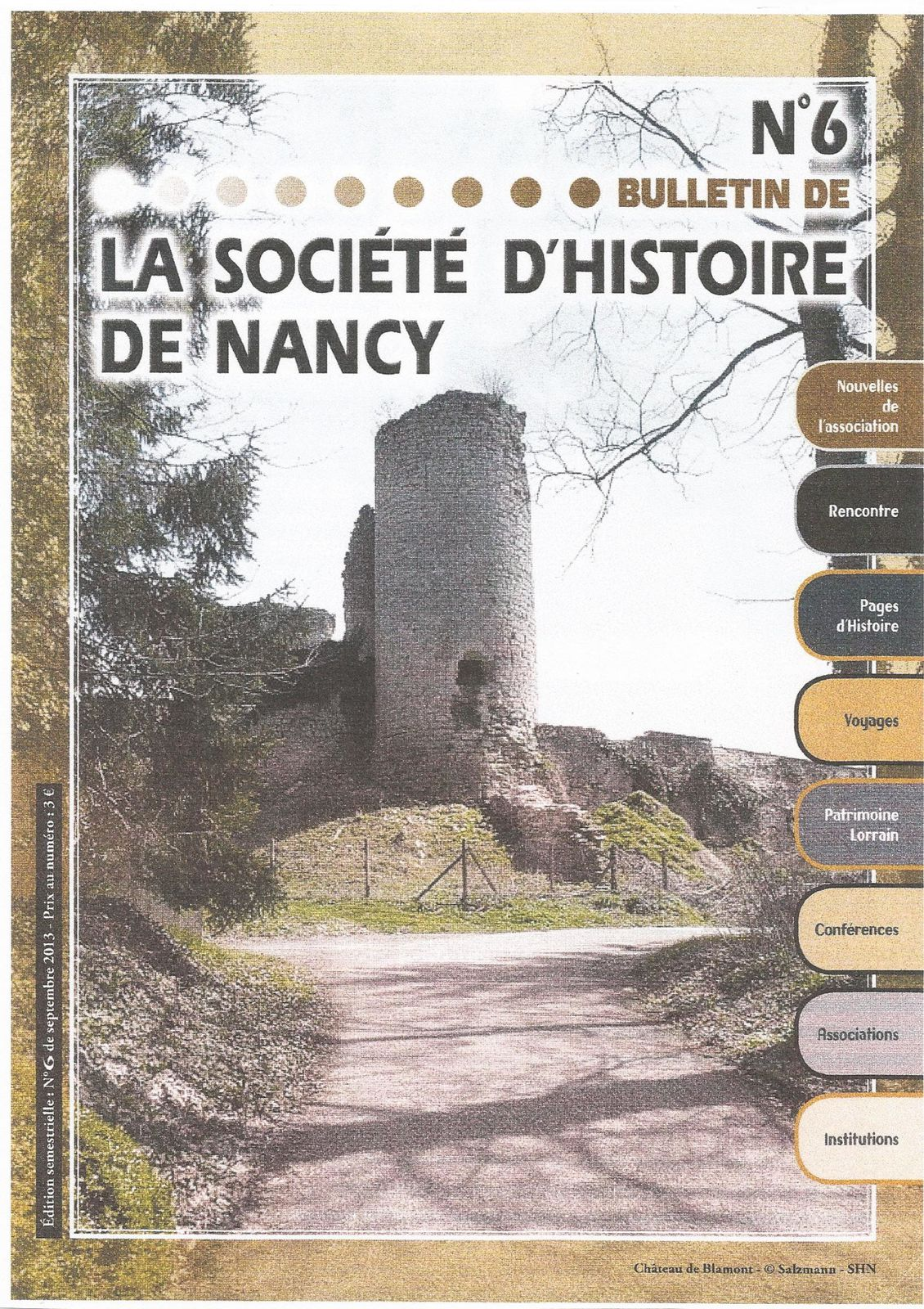 La Société d'Histoire de Nancy nous présente une Association... le Cercle Scientifique Etienne Drioton...