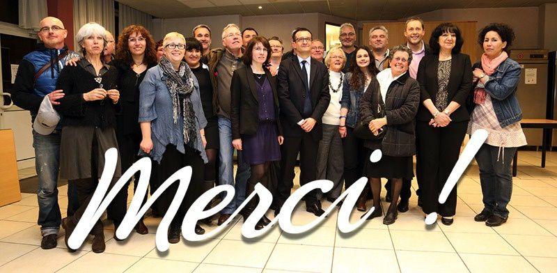 Maxéville: notre ancien et notre nouveau maire...