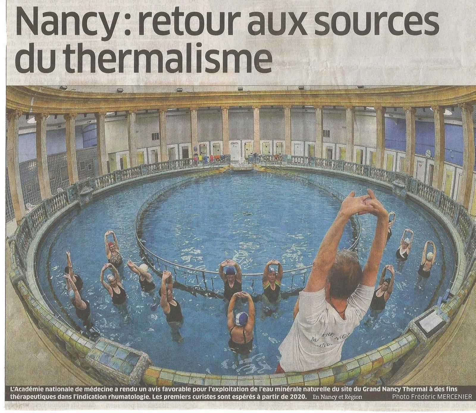 Nancy Thermal... Station thermale ?... c'est reparti !