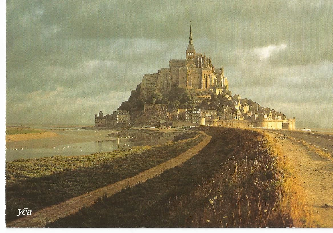 "Mont Saint Michel... ""La Merveille de l'Occident""... (Carte Yca - Belles éditions de Bretagne - Photo Y.R Caoudal - 1987)."
