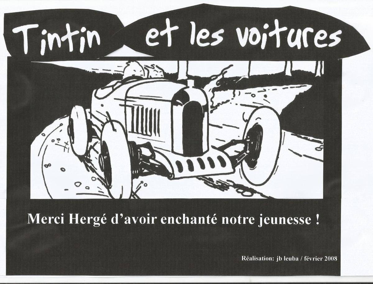 Le dimanche, on se balade avec Tintin en voiture (5)