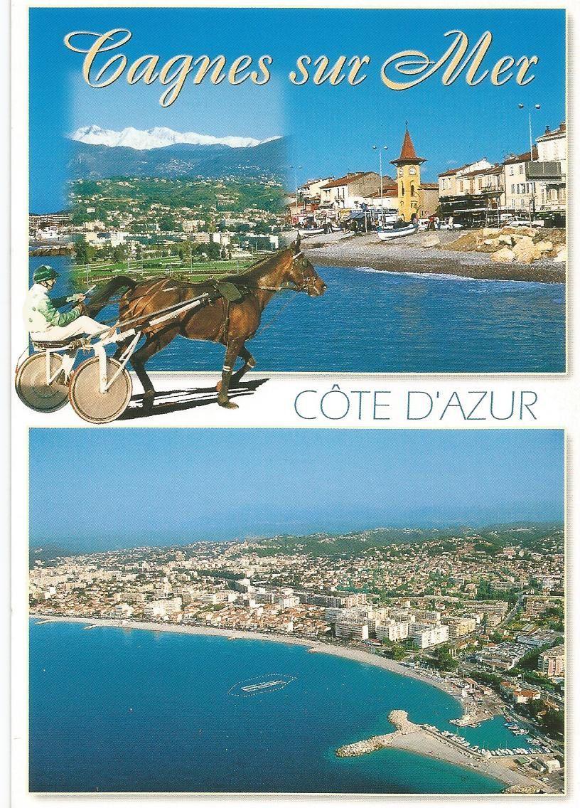 Côte d'Azur... French Riviera... Cagnes-sur-Mer... (06 - Alpes Maritimes)... Editions PhotoGuy...
