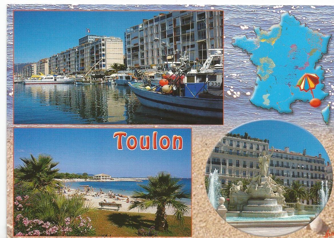 Souvenir de Toulon... Var (83)... Les Editions Aris... Collection: Lumière et beauté de la Côte d'Azur...