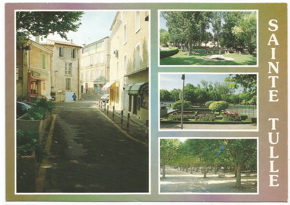 Sainte Tulle... 04220... département des Alpes de Haute Provence en région Provence-Alpes-Côte d'Azur... Les éditions de la Sainte Baume... Carte reçue à Maxéville en août 2006...
