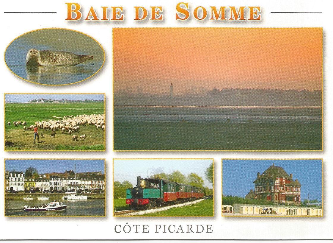 """""""Un bonjour de la Baie de Somme... une région magnifique à découvrir""""... Editions Couleur locale... Photographie: Christophe Potigny... Carte envoyée de la Somme  le 11 juin 2006 à Mavéville..."""