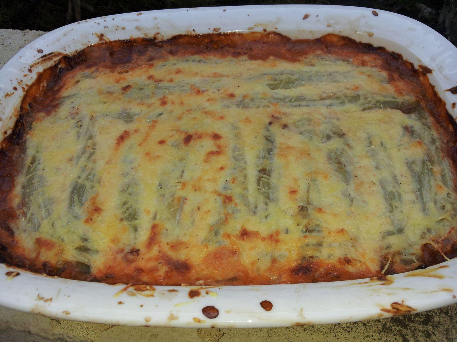 lasagne d'endives