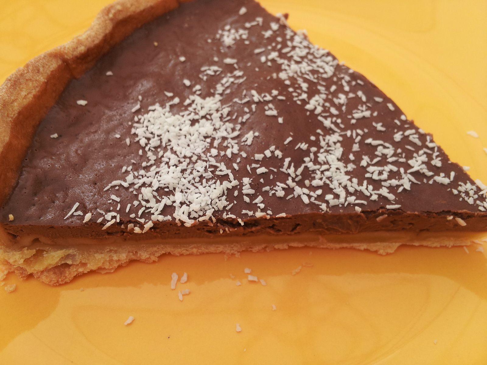 tarte au chocolat ww