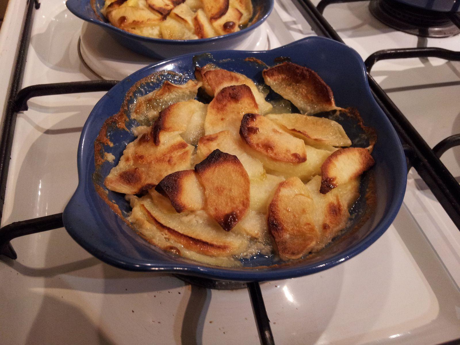 Pommes au whisky tour en cuisine 396