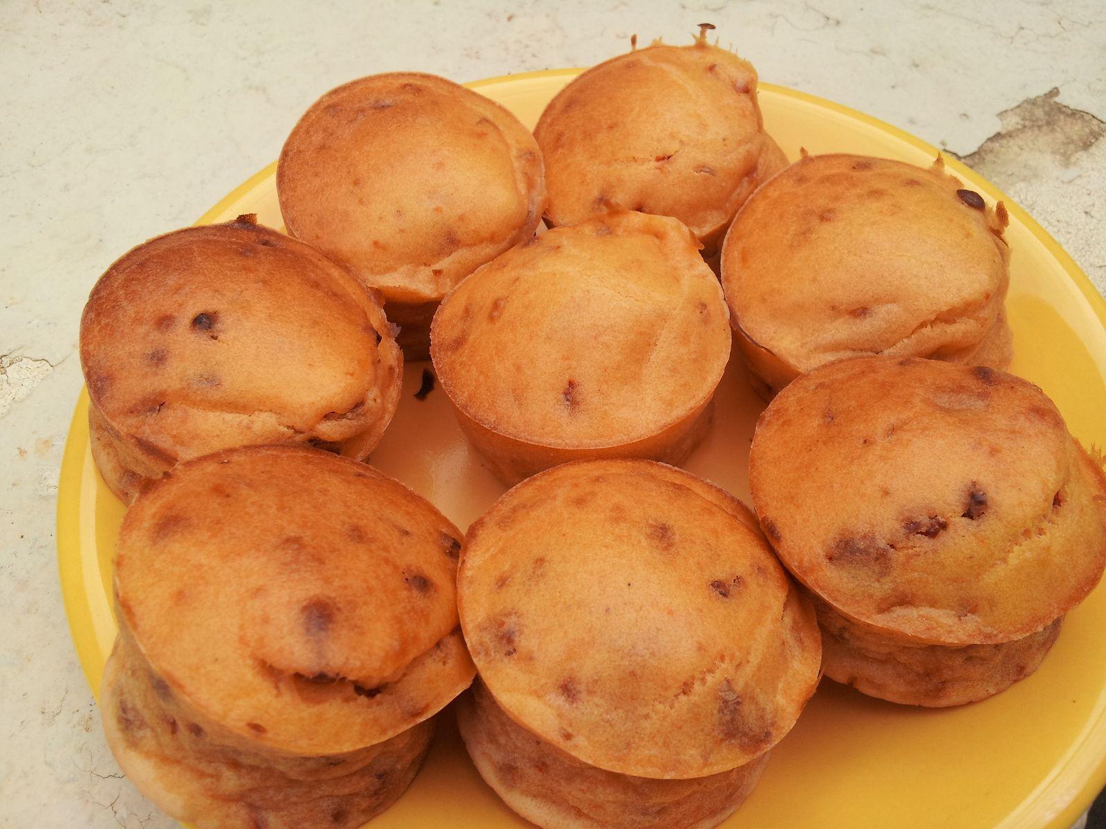 Muffins au chorizo et piquillos