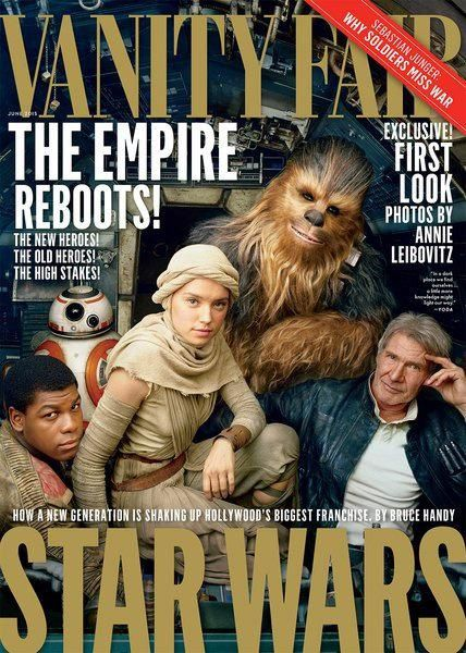 La force s'affiche sur Vanity fair !