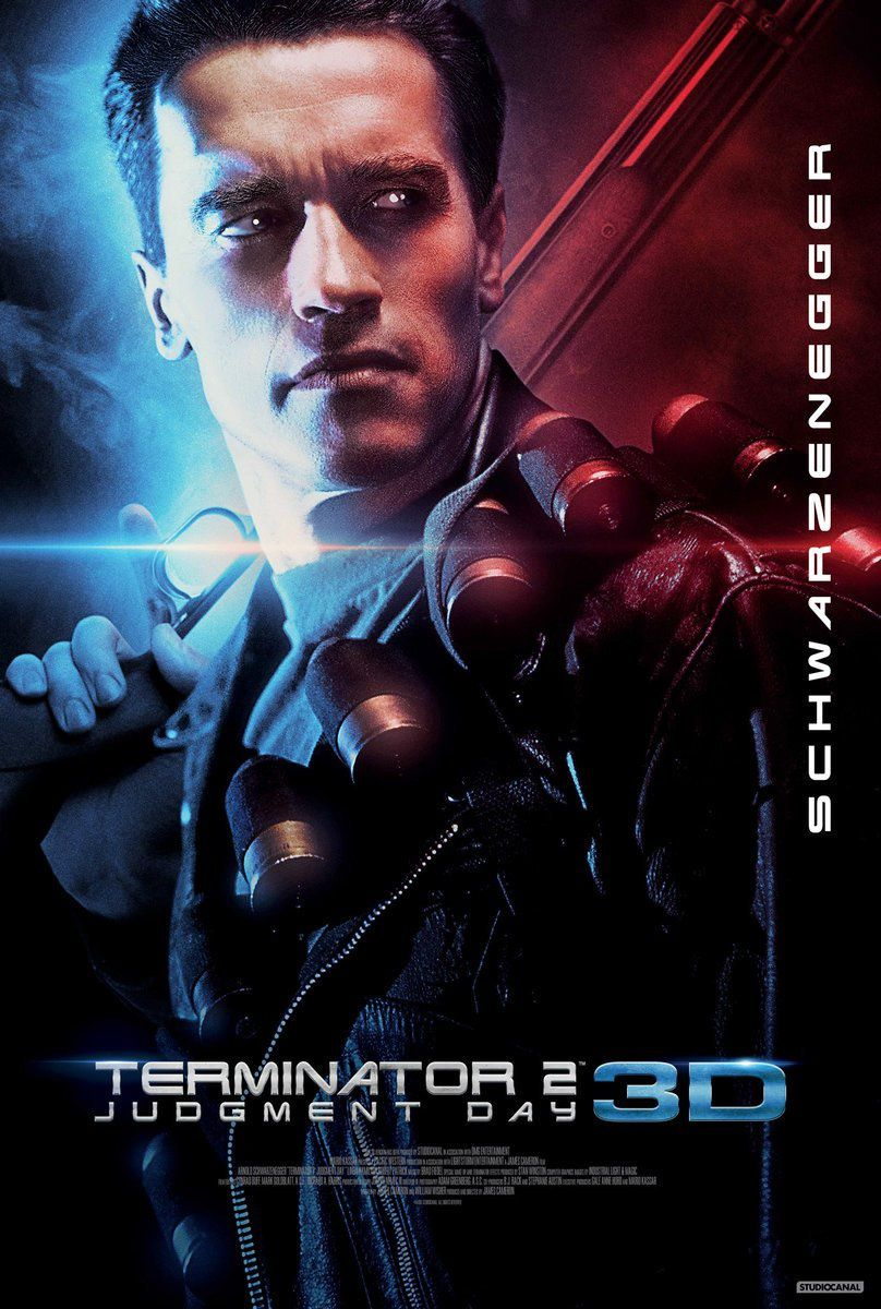 Terminator 2 converti en 3D !!!