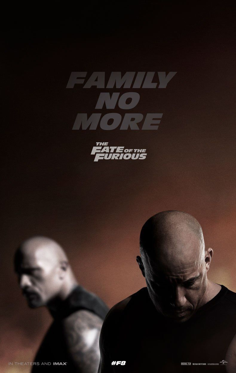 Fast and Furious 8, l'affiche