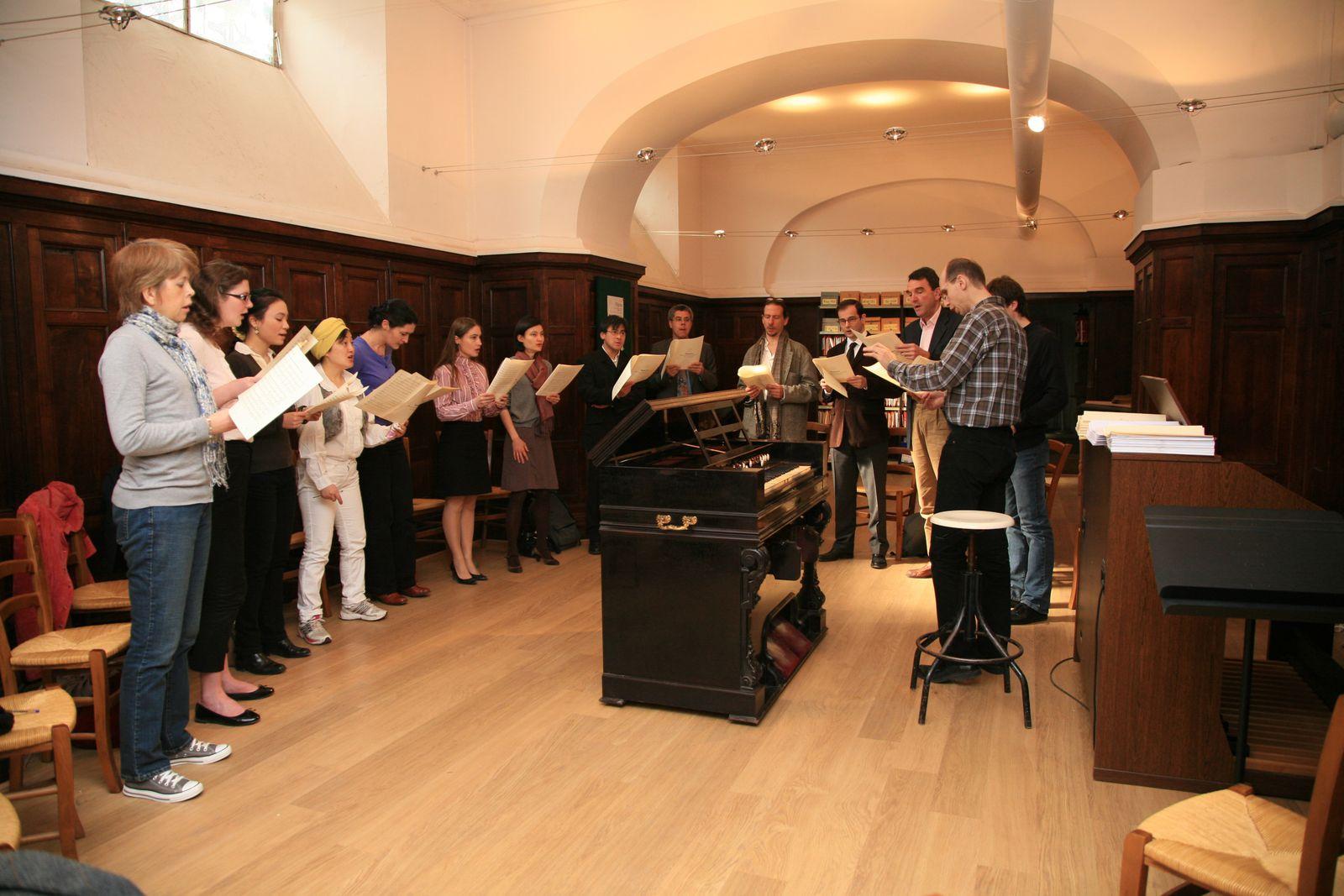 L'evsfx au rythme de la liturgie
