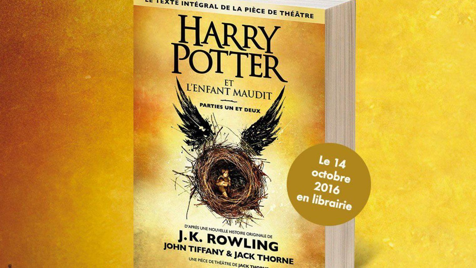 Sortie nationale de Harry Potter en français