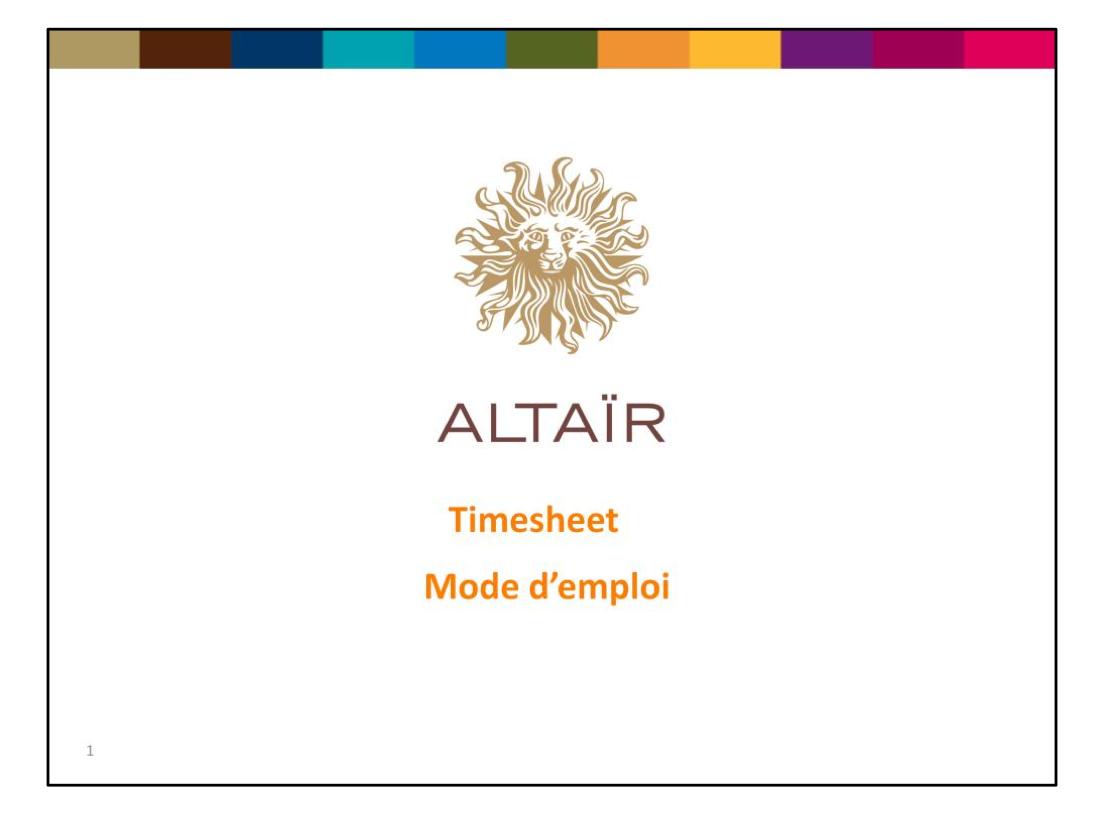 Altaïr. Le logiciel venu de très très loin. Trop loin.