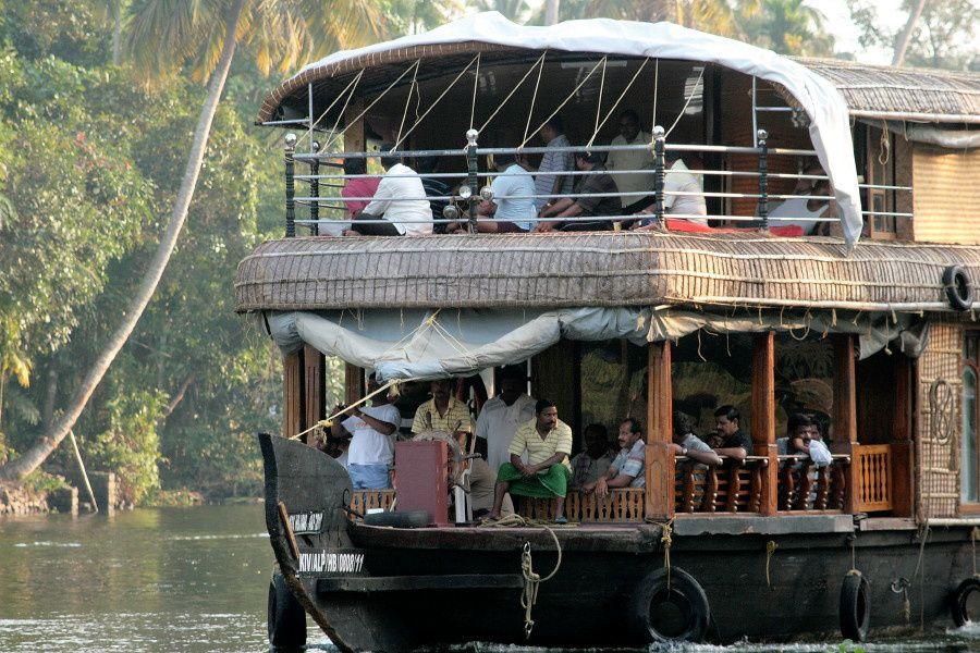 Capitaines et passagers en weekend