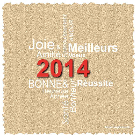 Une bonne et heureuse année 2014