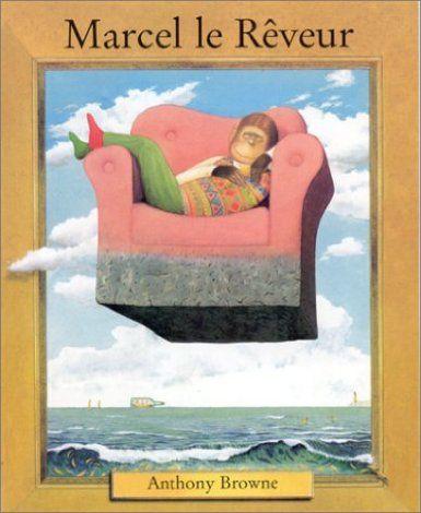 Marcel le rêveur : chaque rêve contient une multitude de références (tableaux, personnages de fictions ...) et plein de bananes !