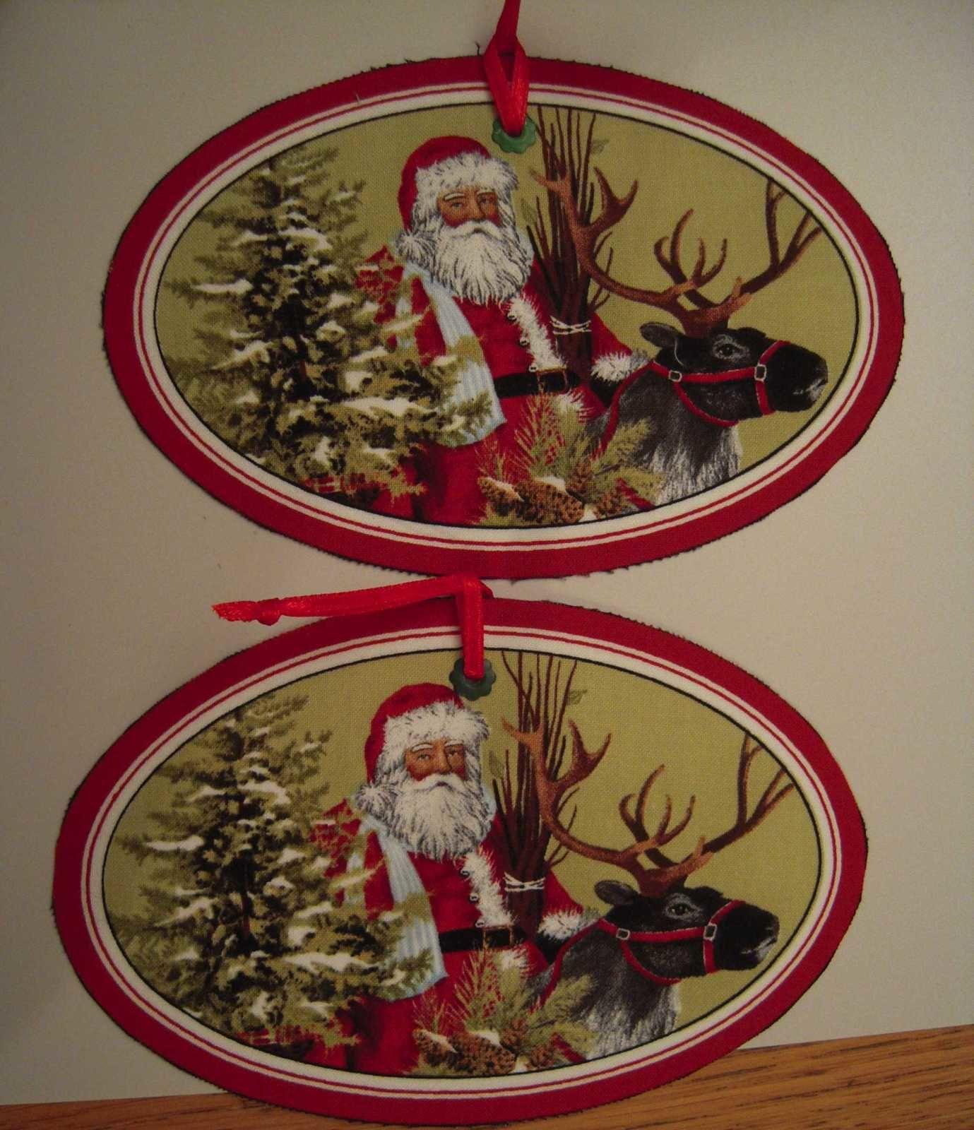 """et des étiquettes """"Père Noël"""""""