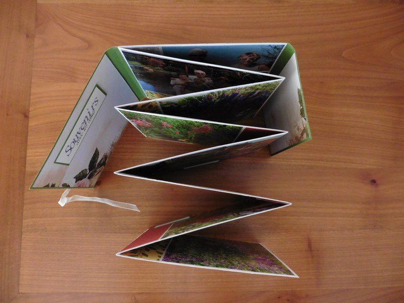 Mini album photo 15x15 accordéon