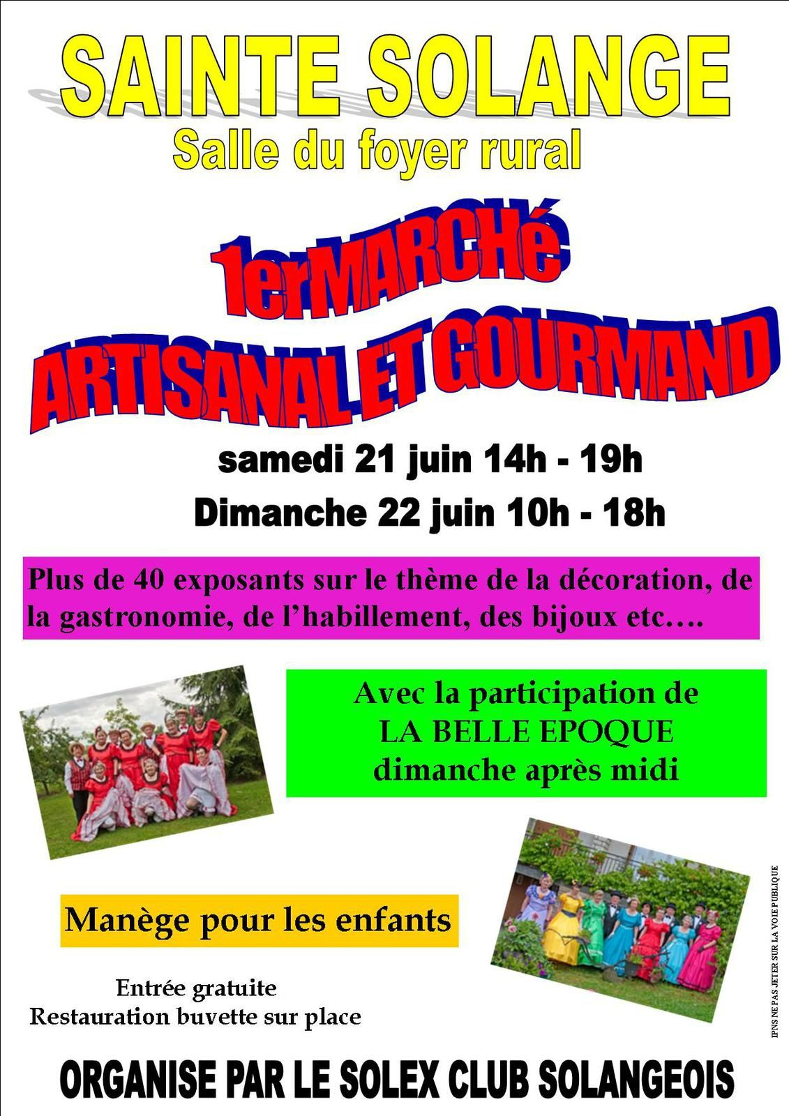 une exposition artisanale ce week end