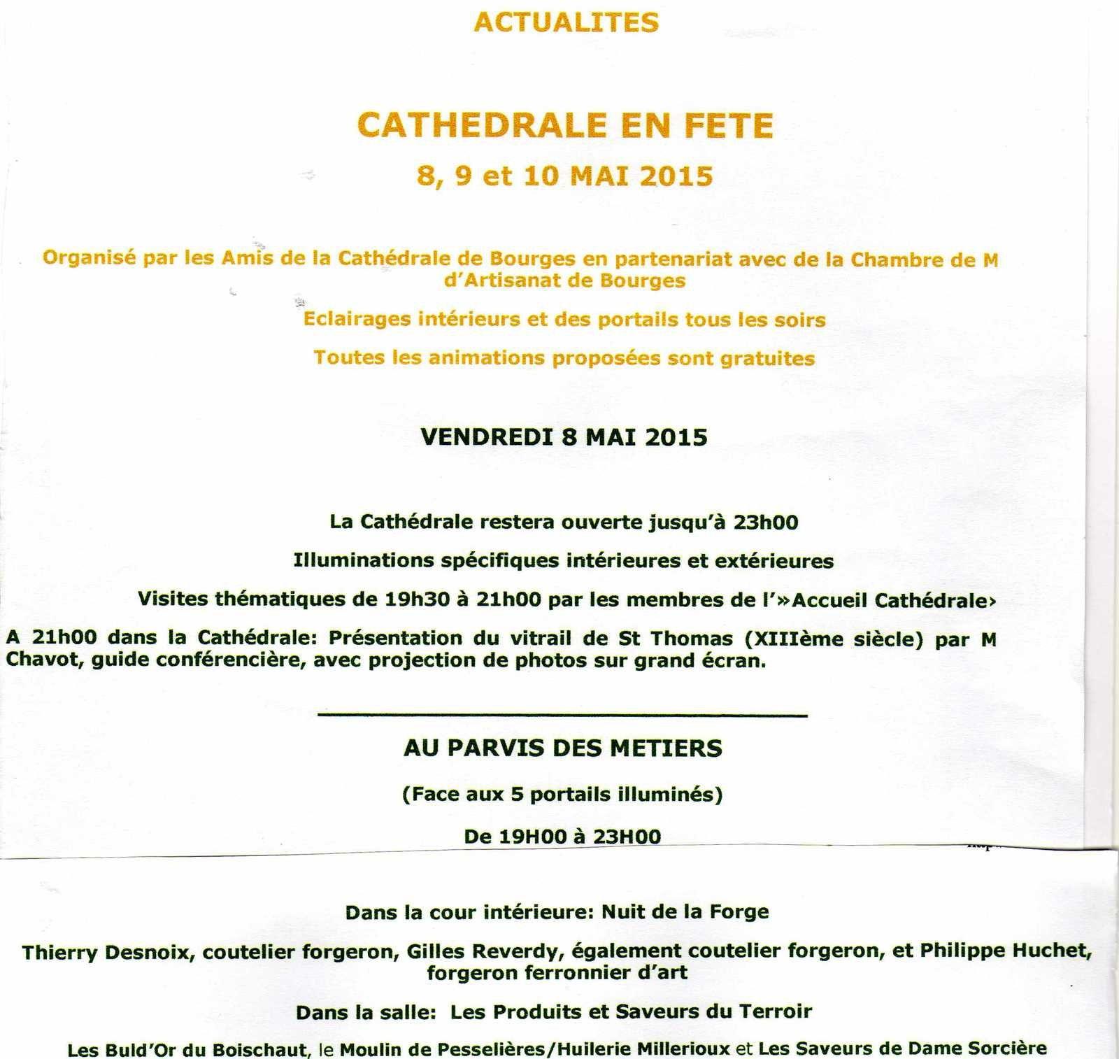 Des manifestations à Bourges