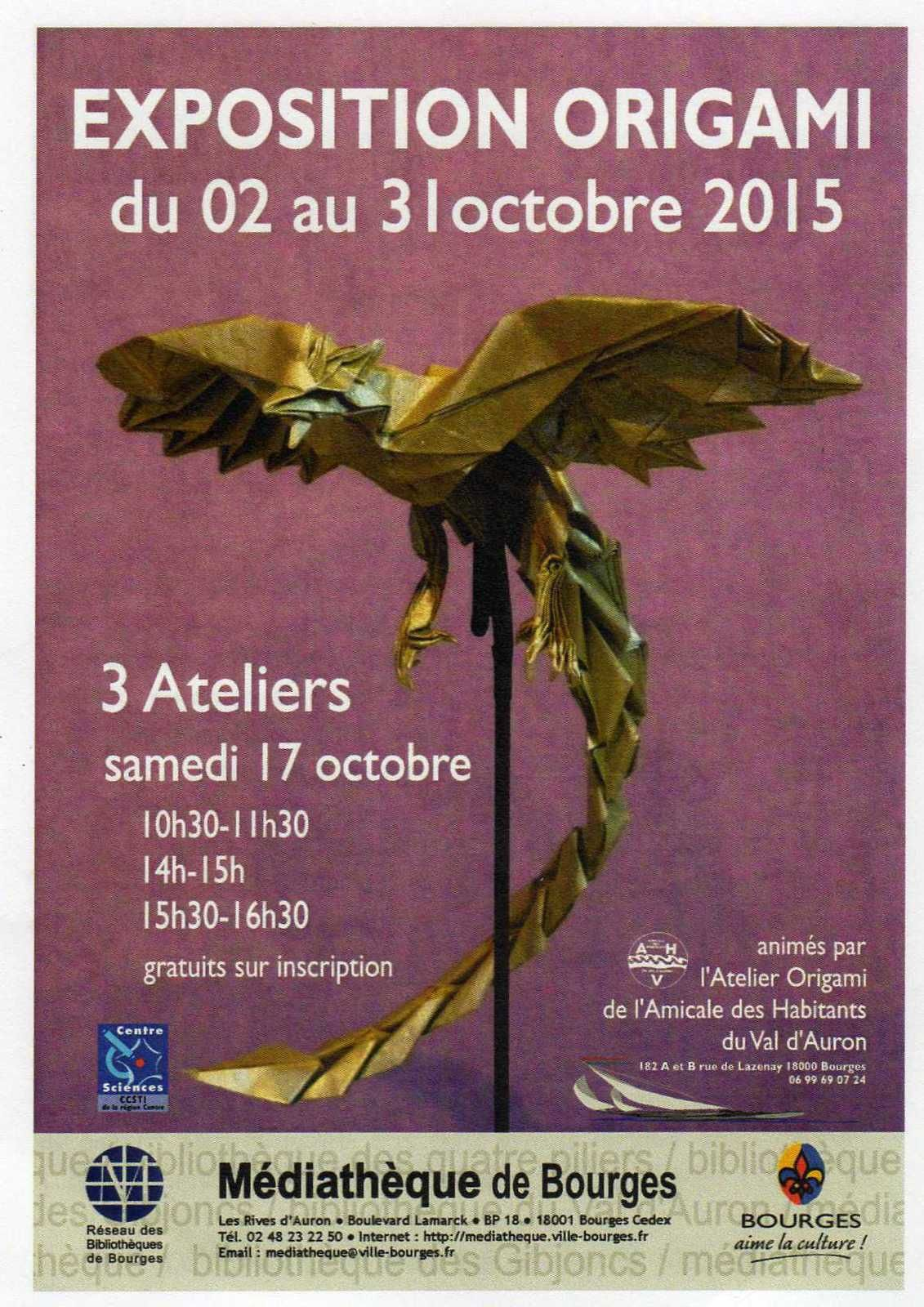 Exposition d'Origami