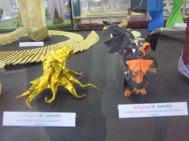 De nouvelles images de l'expo d'Origami