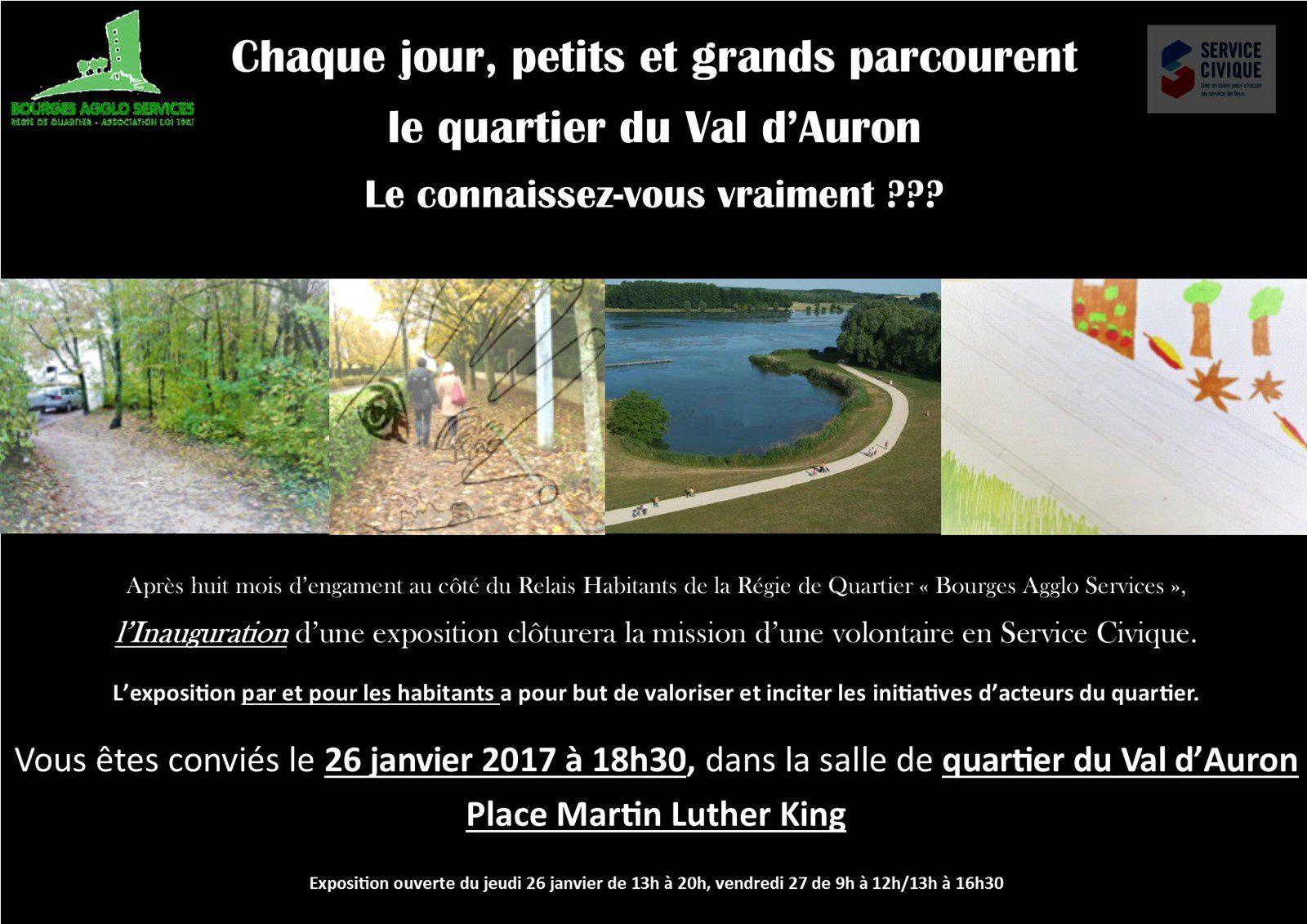 A Bourges ... et dans le quartier du Val d'Auron