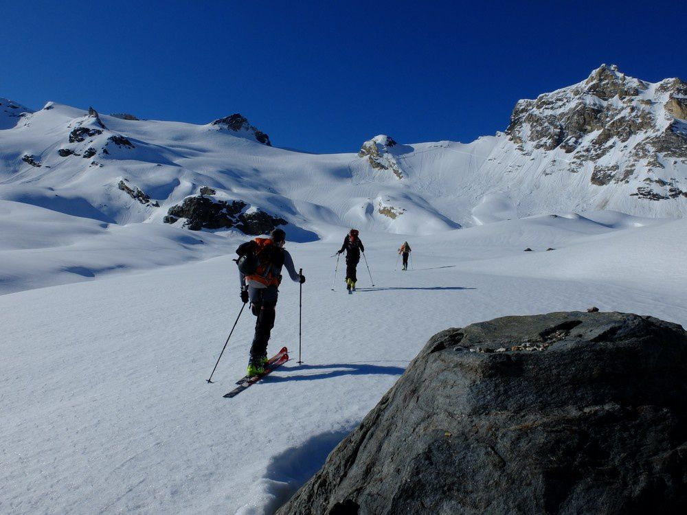 Les possibilités de ski sont multiples.