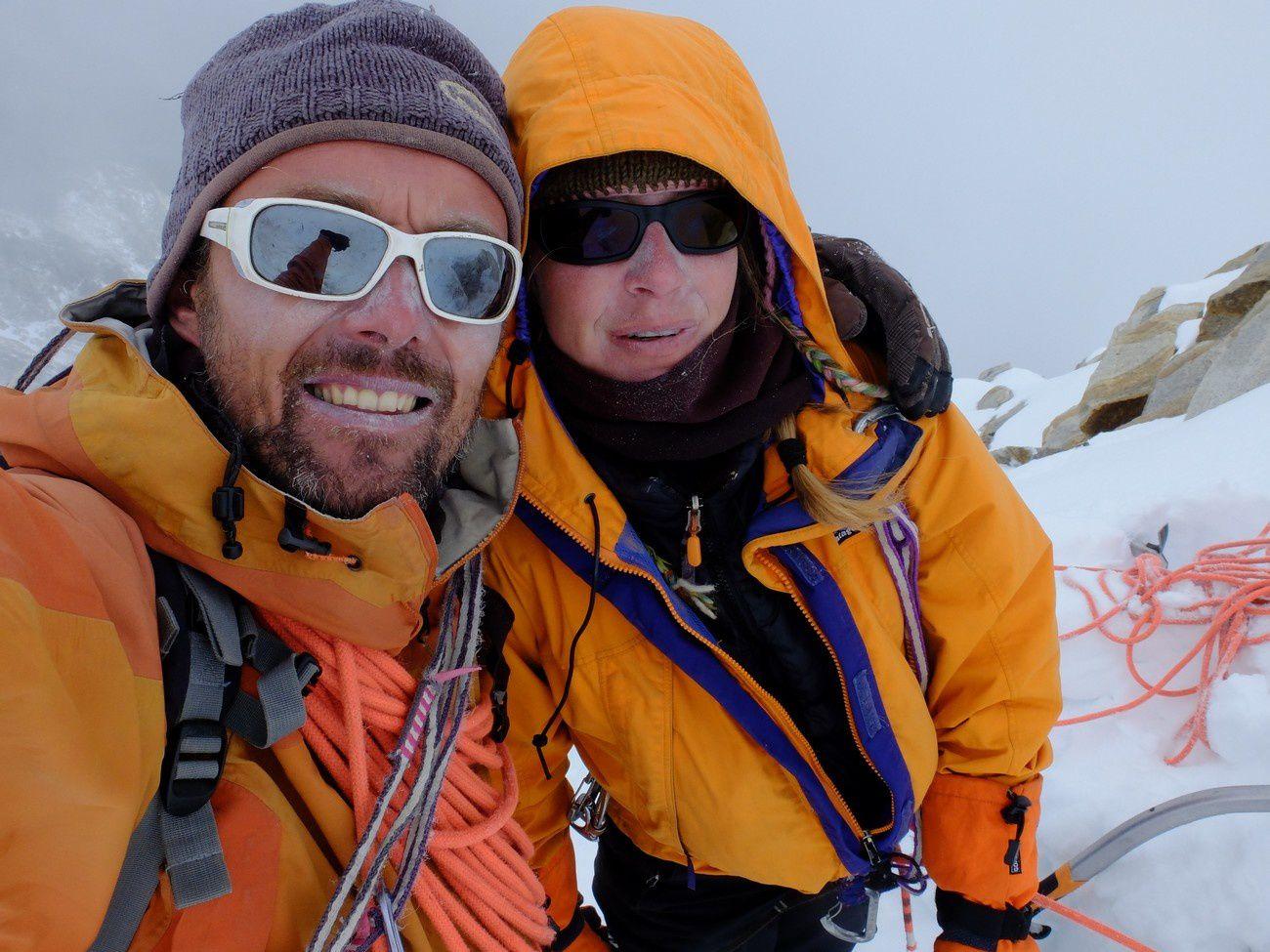 Summit de notre little Cheo Himal juste en dessous de 6000m : toujours une grande émotion d'arriver au bout de ses rêves.