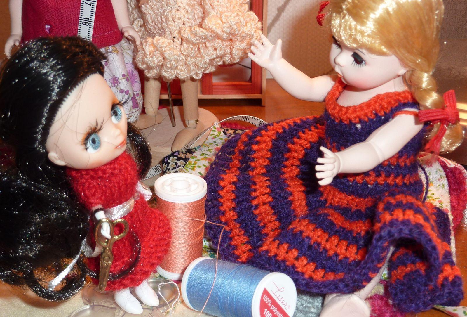 Quand je serai grande, je serai crocheteuse &amp&#x3B; coutureuse