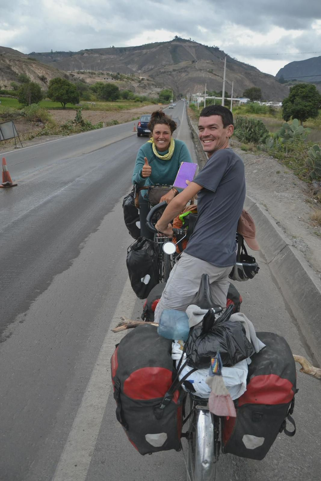 Guayaquil - Tulcan - 1110 km - Un peu plus d'Equateur